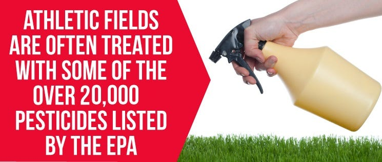 Fields Treated With Pesticides