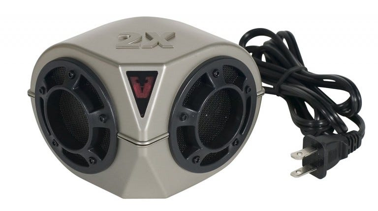 The Victor Pest Chaser Pro emits an ultrasonic frequency that drives rodents from your home.