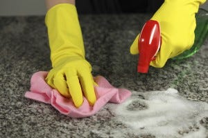Cleaning for rodent control