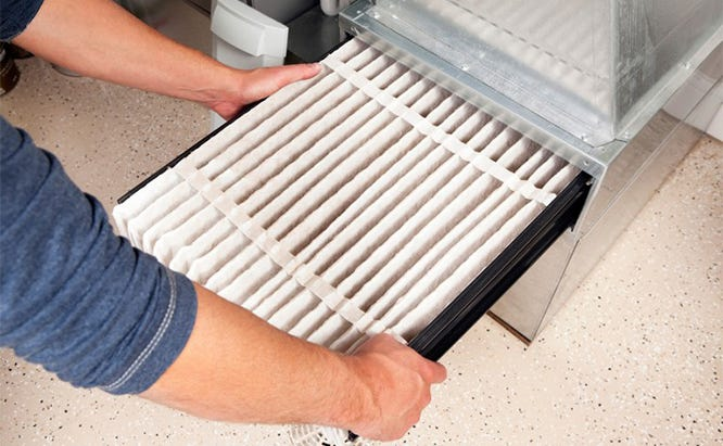 Regularly replace your furnace and air conditioning filters to keep them working at maximum efficiency.
