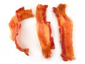Bait mouse traps with Bacon