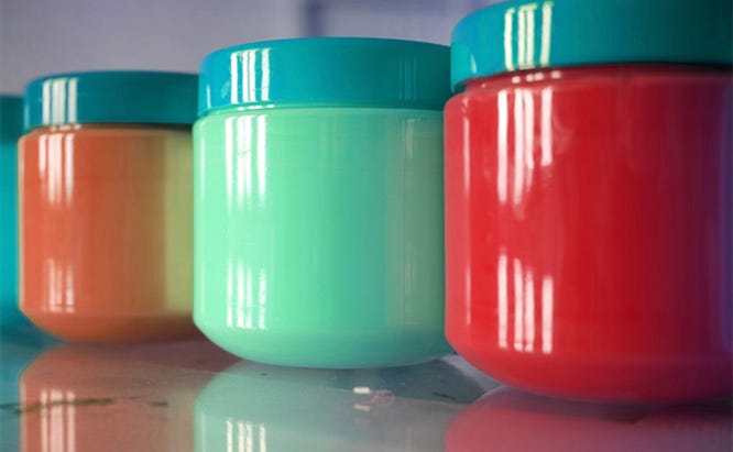 Save about a pint of every paint you use for touch ups in later years.