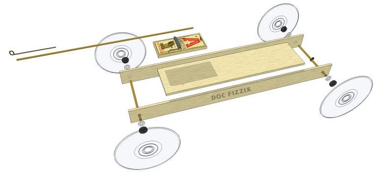 Victor Mousetrap Racer Design