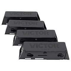 Victor Electronic Mouse Trap Disposable Refill Chambers - 4 Pack