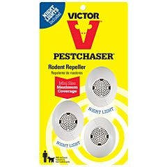 Victor® 3-Pack Mini PestChaser® Rodent Repeller with Nightlight
