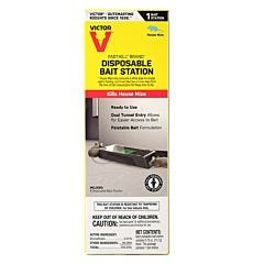 Victor® Fast-Kill® Brand Disposable Mouse Bait Station - 1 pack