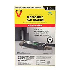 Victor® Fast-Kill® Brand Disposable Mouse Bait Station - 2 Pack