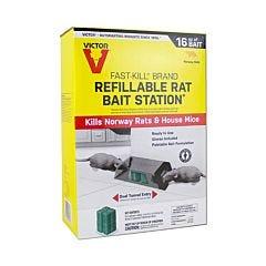 Victor® Fast-Kill® Brand Refillable Rat Bait Station