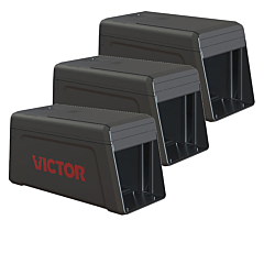 Victor® Electronic Rat Trap - 3-Traps