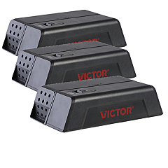 Victor® Electronic Mouse Trap - 3-Traps